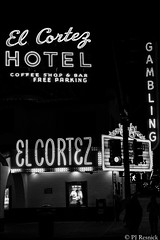 El Cortez (PJ Resnick) Tags: light shadow blackandwhite bw white building window monochrome sign night digital 35mm evening blackwhite neon noir fuji shadows lasvegas outdoor text atmosphere monochromatic casino structure depthoffield fujifilm rectangle fujinon atmospheric rectangular acros resnick elcortez xf lasvegasnv elcortezhotel fujifilmacros xpro2 highspeediso pjresnick xf35mm fujinonxf35mmf14r xf35mmf14 pjresnickgmailcom perryjresnick pjresnick fujifilmxpro2