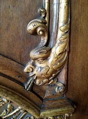 Zwolle 2016  Leafy face (Michiel2005) Tags: door church netherlands nederland ornament kerk grotekerk zwolle overijssel overijsel deur houtsnijwerk stmichalskerk