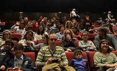 Família i amics al públic