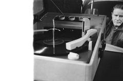 Crescent Record Player - 1st shot of the roll (John's Vintage Cameras) Tags: film analog 35mm vintage kodak vinyl recordplayer lp retina foldingcamera doublex donhenley madeingermany 5222 firstshotofroll 1stshotofroll
