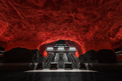I Explored The Depths Of Stockholm To Capture Some Of The Coolest Metro Stations In The World (jh.siesta) Tags: world metro stockholm some capture coolest depths stations explored