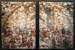 The School of Athens, after Raphal (diptych) (Gordian Puzzles), 2008 (CORMA) Tags: brussels art europe belgique bruxelles exhibition exposition artcontemporain vikmuniz 2016 tourtaxis