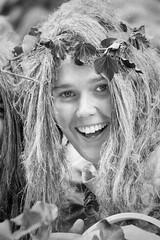 Fata Morgana -2- (Jan 1147) Tags: portrait people blackandwhite bw monochrome laughing belgium zwartwit outdoor joy tvshow lachen portret participant mensen zw fatamorgana belgen kaprijke televisieprogramma vreugde buitenopname deelnemer gallirs platinumheartaward