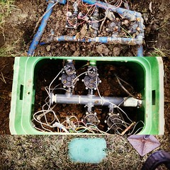 #lnk #lincolnunderground #rainbird #sprinklers #makeitright (Lincoln Underground Sprinkler Systems Inc.) Tags: underground systems sprinkler lincoln inc instagram