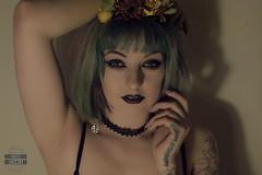 Oddish (felissuicide) Tags: girl make up tattoo female dark model alt style tattoos sg suicidegirls alternative hopeful stylist tattooed