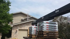 Storm Damaged Roof in Channahon, IL. Certaseal Construction repaired and Installed a new beutiful roof (Certaseal Construction) Tags: roof storm il repair damage atlas insurance roofing claim roofinginstalltionchannahon
