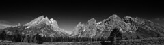 Grand Teton panorama (Stephen Gough) Tags: usa moose wyoming grandteton grandtetonnationpark