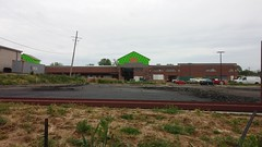 """Does this asphalt qualify for a """"wear and tear"""" discount? (Retail Retell) Tags: county retail project construction ms marketplace desoto expansion kroger hernando v478"""