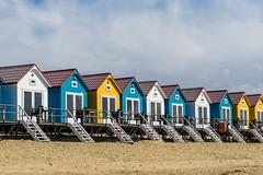 Beach houses (pel16931) Tags: beach netherlands nederland delta zeeland northsea vlissingen guesthouse walcheren westerschelde nollenhoofd