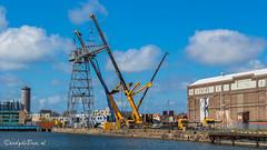 Ontmanteling Scheldekraan Vlissingen (Omroep Zeeland) Tags: zeeland vlissingen kms kraan walcheren filmen industrieelerfgoed ontmanteling scheldekraan