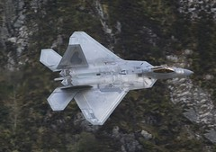 F22 Raptor - Low level Mach loop (Ben_Gilbert1) Tags: usa wales wow flying nikon fighter loop aircraft aviation awesome low fast raptor stealth f22 unreal usaf epic adrenaline mach lowlevel afterburner fighterjet lowflying machloop nikon300mm