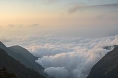 sea of clouds (chiaming_tu) Tags: sunset sky cloud mountain twilight yushan