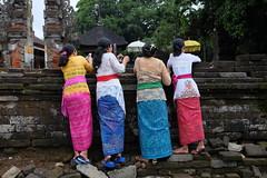 Colourful traditional dress, Tirta Empul, Bali (Jnzl's Public Domain Photos) Tags: bali water temple spring holy ritual bathing hindu tirta empul publicdomain balinese purification tampaksiring
