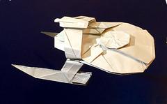 USS Reliant origami (Matayado-titi) Tags: startrek space spaceship khan enterprise starship reliant khaaaaaaaaan sugamata shusugamata
