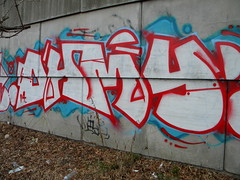 Ohmy (Randall 667) Tags: street urban art island graffiti artist exploring providence crew writer rhode outcast ohmy tagger 2014