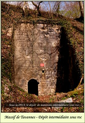 Verdun. Tavannes (dépôt Intermédiai