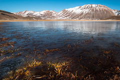 Frozen @ Castelluccio (luigig75) Tags: italy lake snow mountains ice montagne canon italia perugia umbria norcia canonefs1022mmf3545usm 70d montevettore castellucciodinorcia parconazionaledeimontisibillini norci