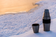 DSC_1680 (inielss) Tags: winter cold ice river nikon flask warm riverside siberia rest thermos vitesse d810