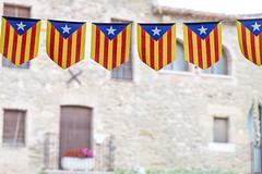 Ocho apellidos catalanes (AnnaPirata) Tags: bokeh flags catalonia catalunya estelada monells ochoapellidoscatalanes