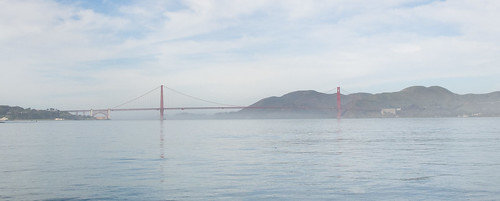 Golden Gate in the mist
