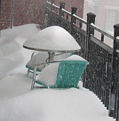 Havin' a cold one. (Dan_DC) Tags: winter snow weather arlington washingtondc va rosslyn blizzard