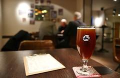 Bar Vlo - Beer from Brasserie de Bastogne, Brussels (infp69 Photography) Tags: brussels beer belgium drink cerveza ale bruxelles cheers bier belgianbeer l samsungnx500 nx1650mmf228s