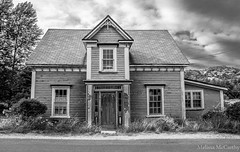 Old House In Brigus (Photography And Artwork of Melissa McCarthy) Tags: blackandwhite newfoundland photography oldhouse brigus