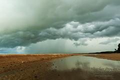 Thunderstorm approaching (stormgirl1960) Tags: ocean sky storm beach rain clouds darwin northernterritory buffalocreek