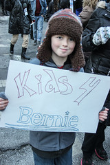 bernie-9657 (teqmin) Tags: nyc blue demo march support rally demonstration bernie unionsquare lowermanhattan youngpeople multigenerational handmadesigns berniesanders votebernie tequilaminsky feelthebern marchtozuccottipark heartfeltsigns americaneedsapoliticalrevolution