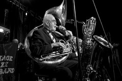 Vintage Jazz Big Band (P-O Alfredsson) Tags: music jazz musik tuba clarinet slottsskogen klarinett belparc storbandsjazz