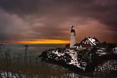 Portland Headdlight (JL72186) Tags: ocean sea lighthouse portland maine storym