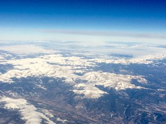 the.mighty  rockies (origamidon) Tags: airplane rockies colorado view aerial fromabove snowcovered