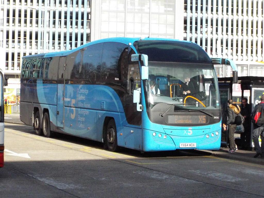 YX64WDA 47604 Tags Bus Bedford Stagecoach X5 54316 Yx64wda
