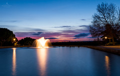 When the sun goes down (hector_cbs) Tags: madrid park longexposure sunset espaa spain silk filter nd neutraldensity