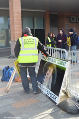DSC_2533A (jane.hards) Tags: street people yellow demo protest streetphotography lancashire banners anti blackpool causes nanas placards appeal fracking frackfreefylde