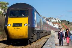 43 303 (Deadpanhammer) Tags: train transport railway dawlish class43 70200f4is canon7d