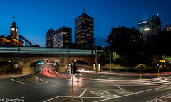 Trains, cars and city lights (Mick Fletoridis) Tags: longexposure nightphotography nightlights sydney australia citylights sonyimages sonya7s