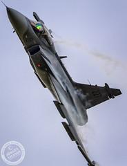 JAS 39C Gripen (Jörgen Nilsson Photography) Tags: england fairford gripen storbritannien saabjas39cgripen riat2014 peterfällen