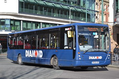 Rotala Group Diamond 30816 BX58AOO (Will Swain) Tags: city uk travel england west bus english buses birmingham britain centre transport group diamond vehicles vehicle february 9th midland midlands 2016 rotala 30816 bx58aoo