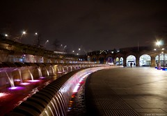 sheffield city town (1) (Simon Dell Photography) Tags: city winter color simon station night train photography long bright time photos sheffield awsome dell tow exp 2016