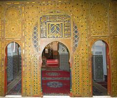 Kairaouine Mosque Fes Morocco (David Russell UK) Tags: city building architecture arch prayer religion mosque arabic morocco arab fez medina fes islamic kairaouine qarawiyyin alqarawiyyin