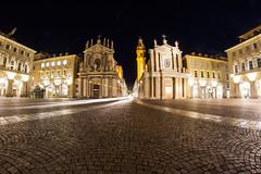 TORINO - Piazza San Carlo (cid) Tags: canon torino fisheye piazzasancarlo 1000d