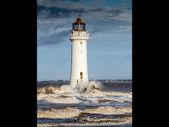 Storm Approaching (tonythomasuk) Tags: lighthouse newbrighton 2016 perchrock