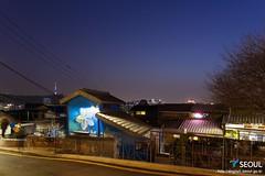 Seoul Fortress Trail: Naksan Section (Seoul Korea) Tags: city asian photo asia capital korea korean photograph seoul kr southkorea citywall   kpop  republicofkorea canoneos6d sigma2470mmf28exdghsm seoulfortress iseoulu fortresswalk