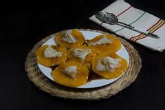Naranjas con bacalaho ahumado y vinagreta de miel (Frabisa) Tags: orange salad naranja ensalada vinaigrette vinagreta bacalaoahumado smokedcod
