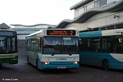 2353 (S353 YOG) - Wrexham Bus Station (didsbury_villager) Tags: wrexham 2353 arrivamidlands s353yog