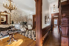 8th Street Brooklyn brownstone foyer Victorian inteiror (techpro12) Tags: stairs room victorian historic stairway banister foyer brownstone