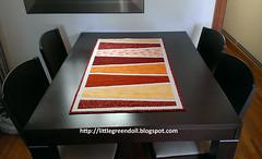 PATCH5604-Table-Runner-LGD (Silvia LGD (Little Green Doll)) Tags: handmade crafts quilting patchwork fabrics telas tablerunner hechoamano caminodemesa