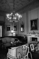 """Dunster Castle in Black and white • <a style=""""font-size:0.8em;"""" href=""""http://www.flickr.com/photos/32236014@N07/25560708181/"""" target=""""_blank"""">View on Flickr</a>"""