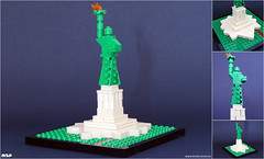 Statue of Liberty / Liberty Island (MSP!) Tags: new york ny scale statue architecture liberty island lego micro marchitecture